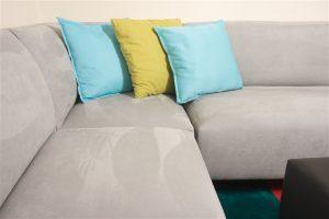clean sofa set